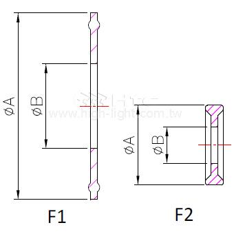 Ferrule Gasket Plain type 13PG