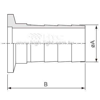 KF-Rubber管接頭