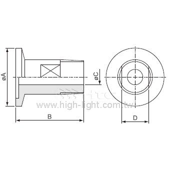 KF-Male Pipe管接頭-PT