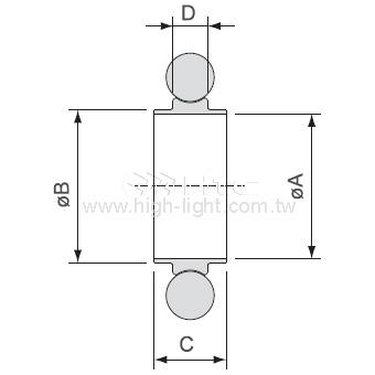 ISO Centering Ring & Viton O'Ring(USA)