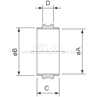 ISO中心圈(美規)