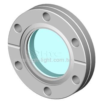 CaF2氟化鈣視窗應用於UHV超高真空 | Htc日揚真空