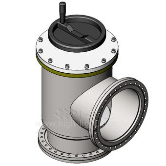 大型角閥閥門客製化-大型真空閥門 Vacuum Valve製造供應商 : Htc日揚真空