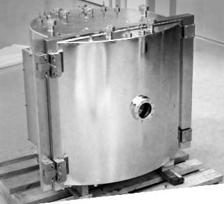 D Shape vacuum chamber