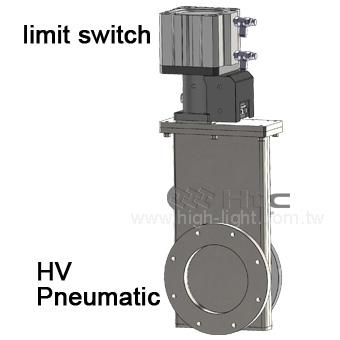 高真空ゲートバルブ (潤滑油塗布) | 真空ゲートバルブ : Htc vacuum