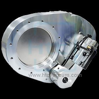 Pneumatic pendulum valve of vacuum valves for high vacuum chamber control system by Htc vacuum